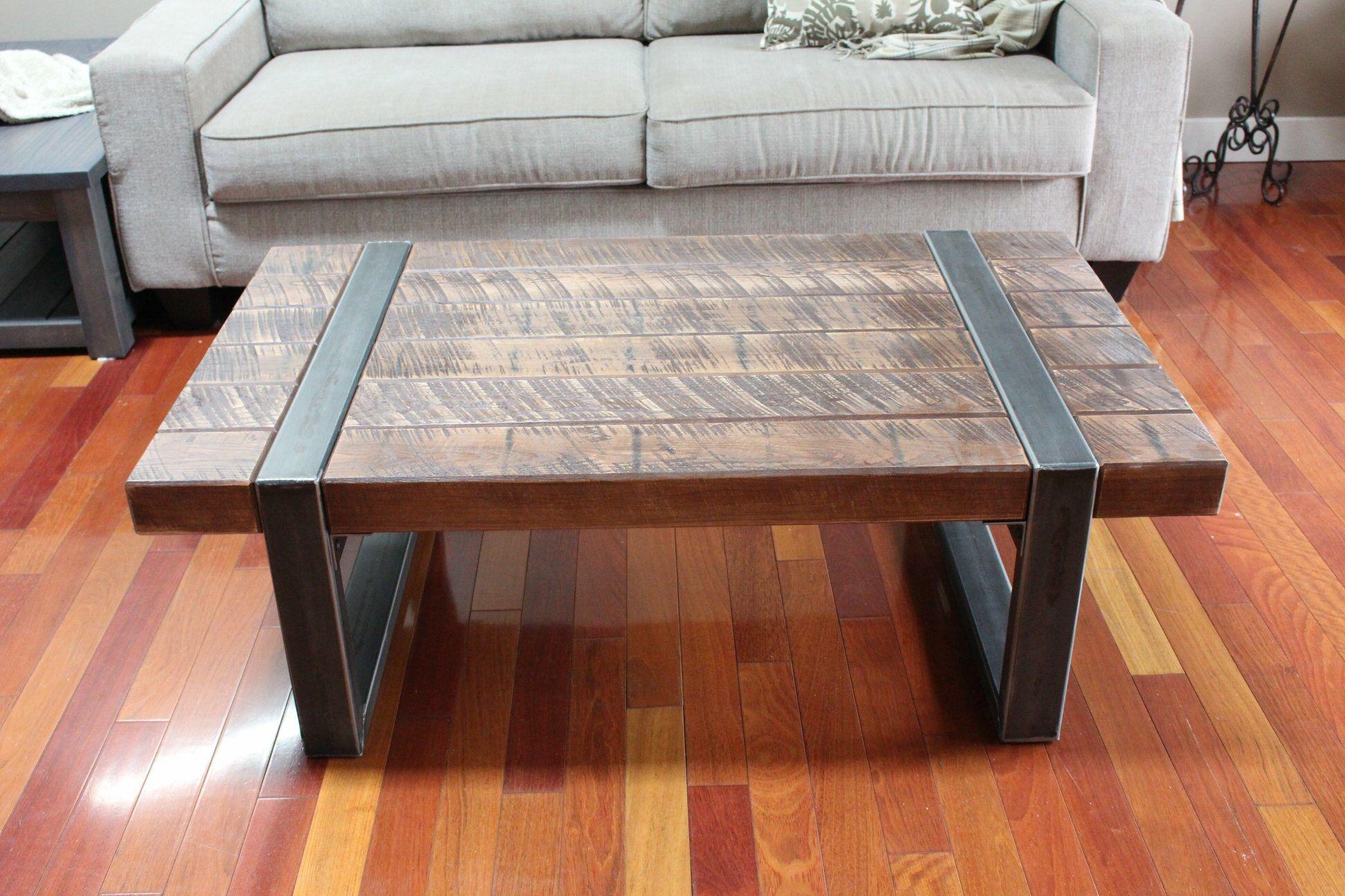 Rustic Coffee Table Rustic Industrial Coffee Table Coffee Table Wood Farmhouse Coffee Table [ 1296 x 1944 Pixel ]