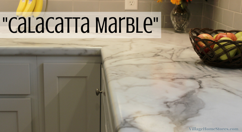 Classic Painted White Kitchen With Formica Marble Tops Marble