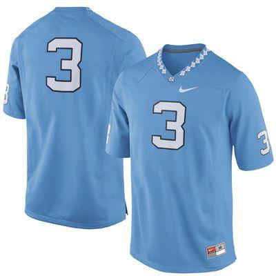 the best attitude 0425d e1d05 3 North Carolina Tar Heels Nike Replica Football Jersey ...