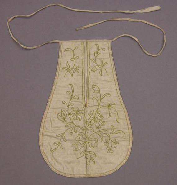 Made by Hannah Haines circa 1720.