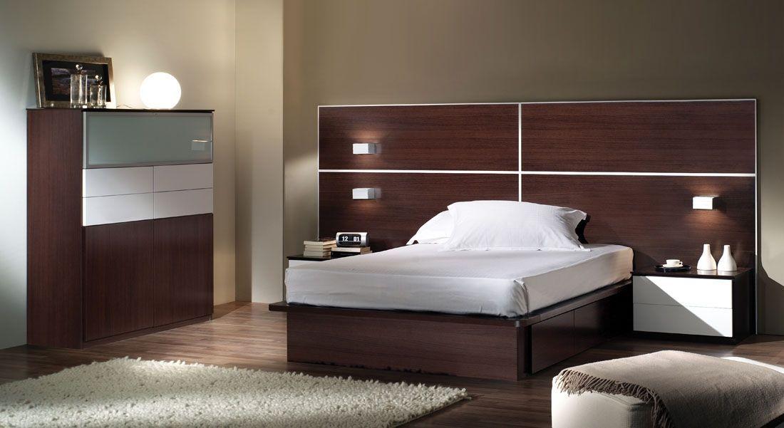 Dormitorios de matrimonio | Mesa de noche flotante, Mesita de noche ...