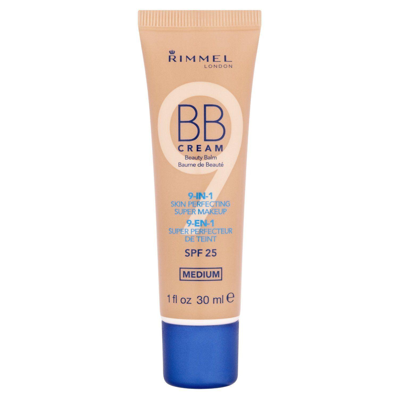 Rimmel BB Cream Medium 002 Blue Cap -Rimmel BB Cream is a9-in-1 Skin Perfecting Makeup with a Natural Matte Finish - Rimmel BB Cream does 9 StepsMinimises th