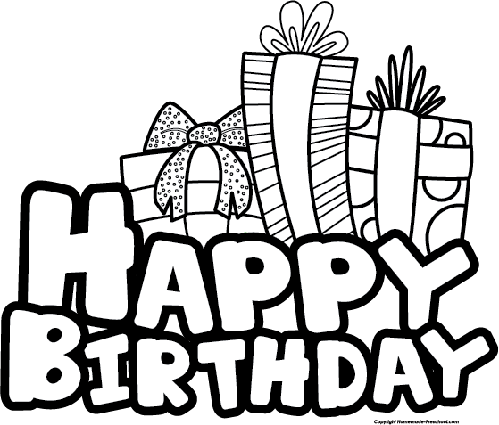 Free Happy Birthday Clipart