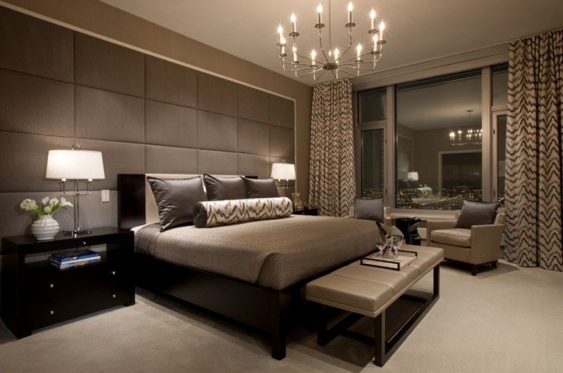 City Bedroom With Luxe Details Decoist Luxury Bedroom Master Hotel Style Bedroom Contemporary Bedroom Design