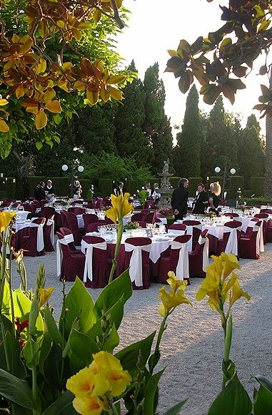 Maroon Wedding Banquet Don T Know Why But The Indians