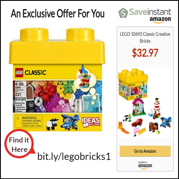 LEGO 10692 Classic Creative Bricks | thisdeal co | Lego