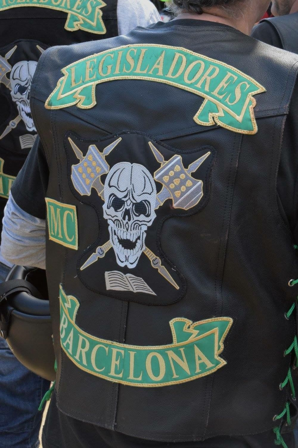 Legisladores Mc Barcelona More Bike Gang 7d32905a11e