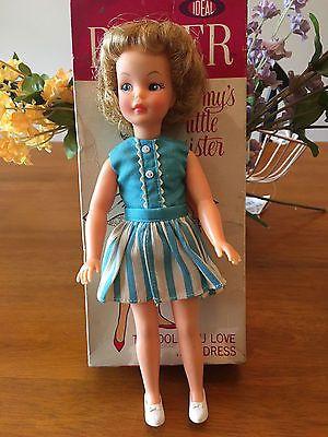 Vtg 1960's Ideal Tammy Sister PEPPER Doll + Original Sailor Outfit ...