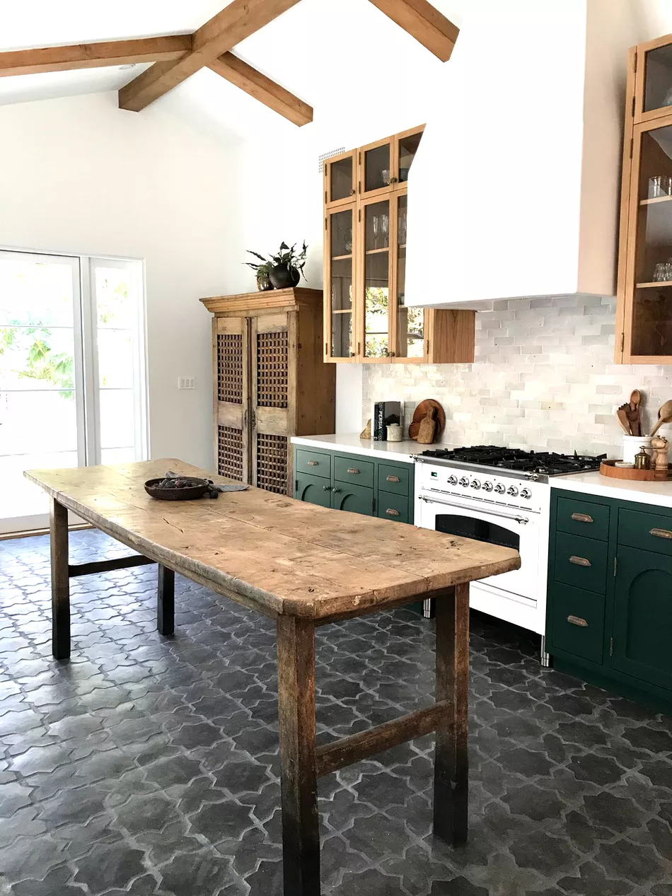16 kitchens that will make you want to retile yours in 2020 kitchen flooring kitchen floor on kitchen remodel floor id=50674