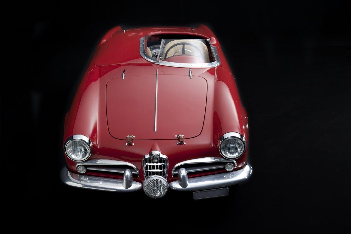 Alfa romeo giulietta spider sebring competizione 1957