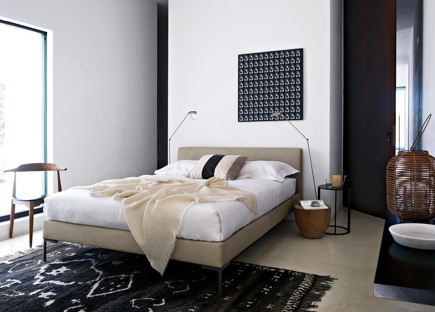 Bed: CHARLES   Collection: Bu0026B Italia   Design: Antonio Citterio