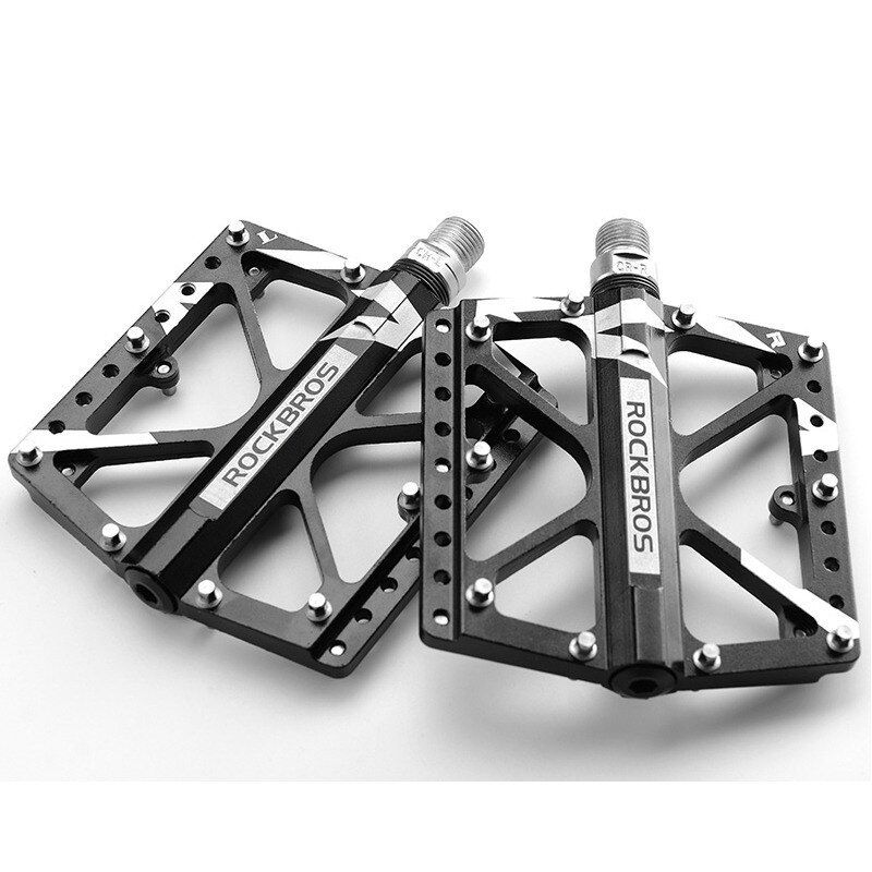 Alloy Mountain Bicycle MTB Folding Bike Bicycle Platform Flat Pedals DD
