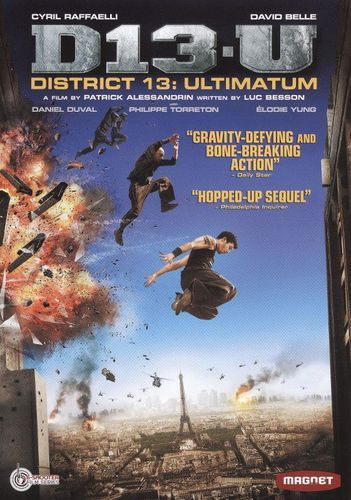 District 13 Ultimatum Dvd 2009 Best Buy District 13 Magnolia Pictures French Movies