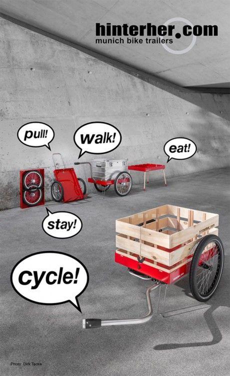 Pin Von Romain Tami Auf Bike Way Of Life Fahrrad Fahrrad Lastenanhanger Anhanger Fahrrad