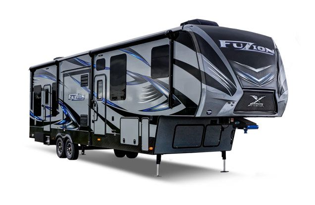 Gallery Image For Keystone Rv Brand Fuzion Toy Hauler