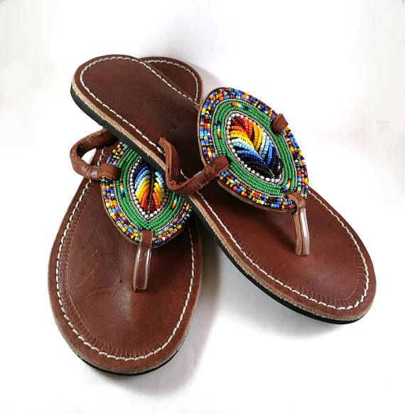 SandalsAfrican Summer SandalsAfrican SandalsAfrican Summer Shoes Leather Summer Maasai Maasai Shoes Leather Maasai Leather 2IEDWH9