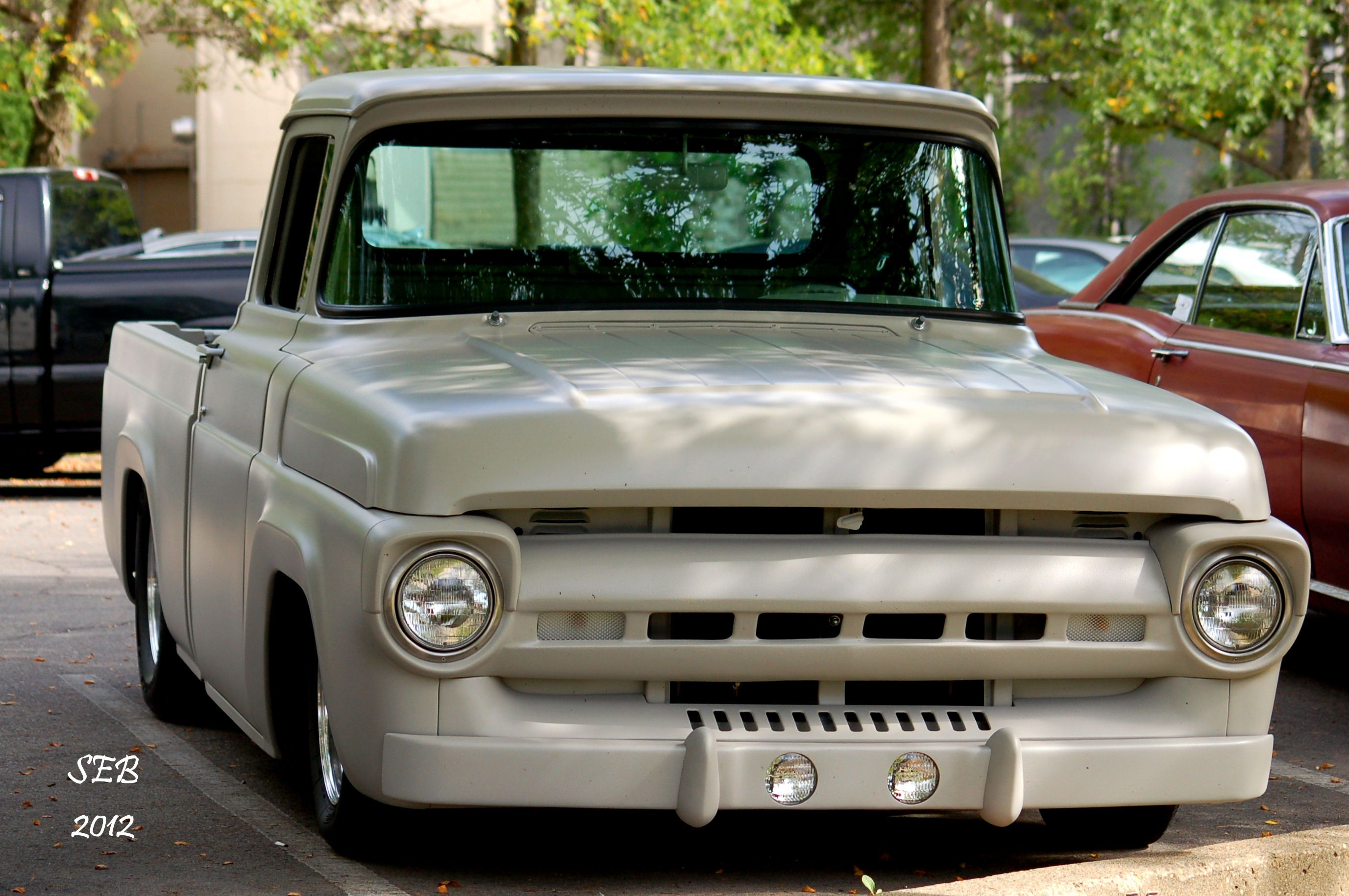 1957 Ford F-100 Pickup License plate tag  F100 Pick Up Truck Hot Rod Classic 57