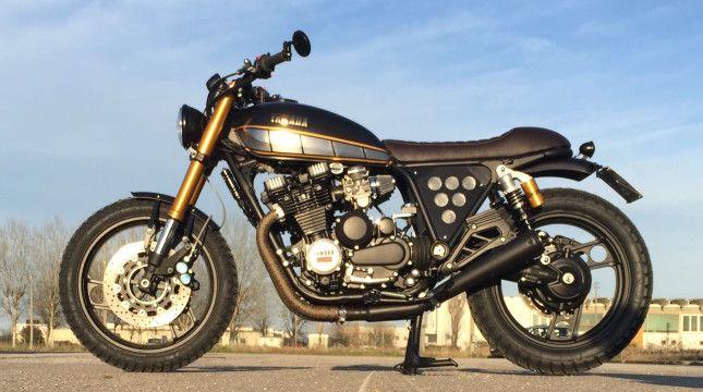 Yamaha XJ750 Old School Style Yamaha Bike Motorcycle