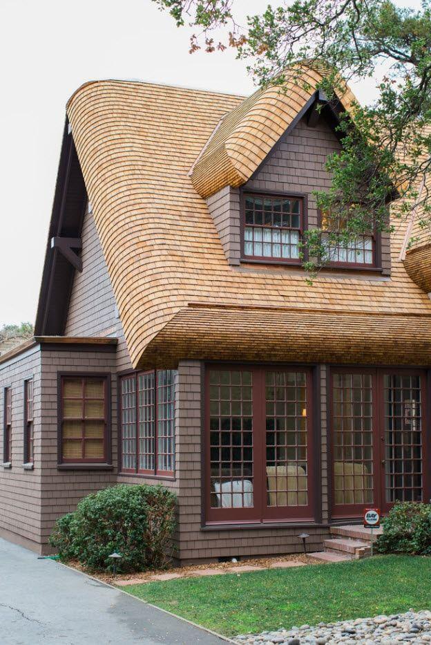 100 лучших идей дизайна: Крыши частных и загородны домов с ...