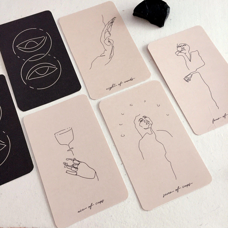 Modern Seer Tarot Deck In 2020 With Images Tarot Cards Art