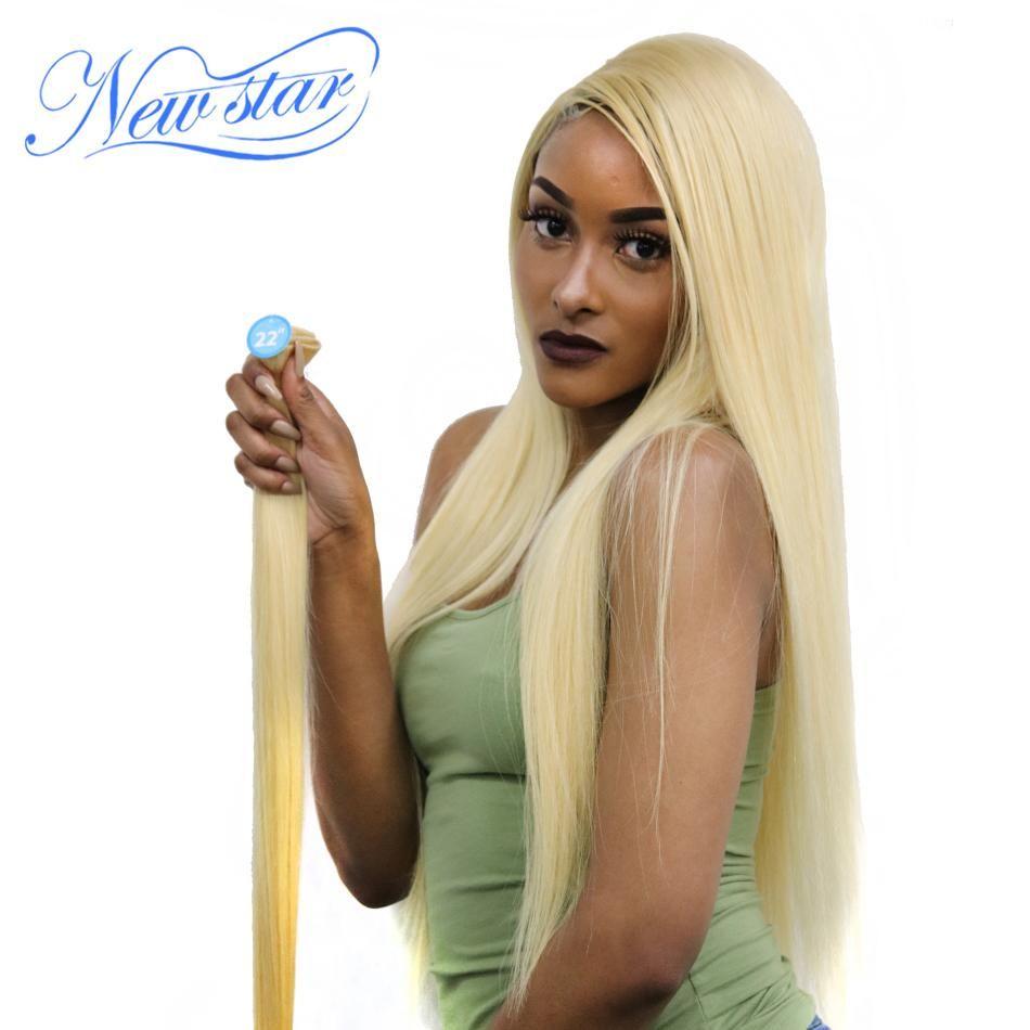 Brazilian Blonde Straight Hair 100 Human Hair Weaving 10 30