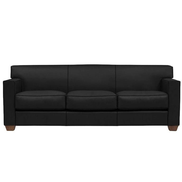 Sofa Sleeper Black leather sofas