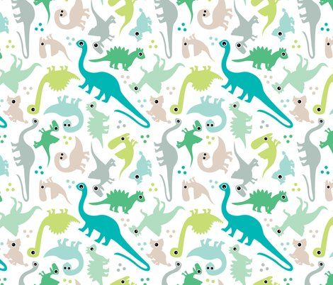 Dino wall paper oh baby baby nursery pinterest for Cute baby fabric prints