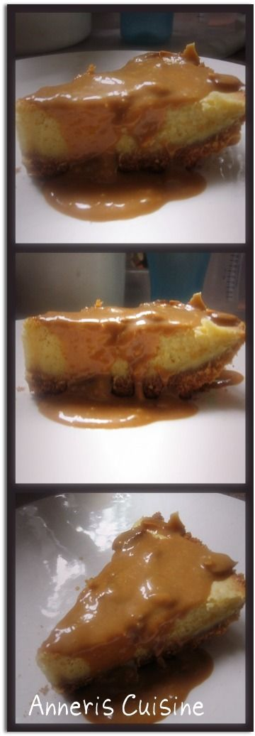 ANNERIS CUISINE: CHEESE CAKE CON CARAMELO Y ALMENDRAS.