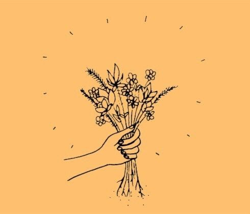 Tumblr Drawing And Flowers Image