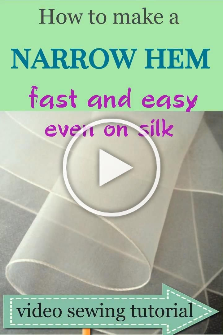 Sewing hems on chiffon fabric and other lightweight silk can be tricky Try hemming chiffon dress using this video sewing tutorial If you are looking for creative sewing i...