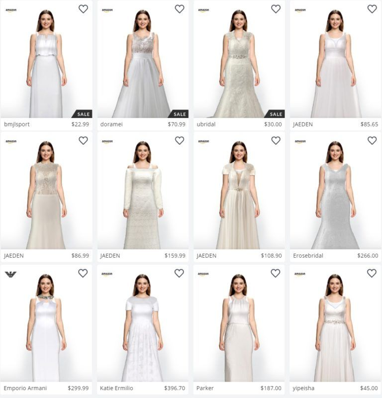 A New App Will Allow You To Virtually Try On Wedding Dresses Virtual Wedding Dress Wedding Dress Quiz Dresses