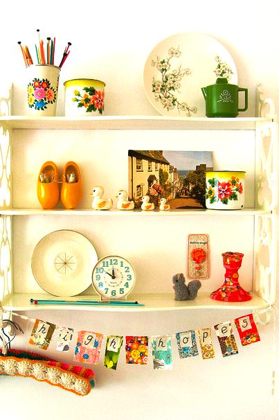 shelf storage, cute.