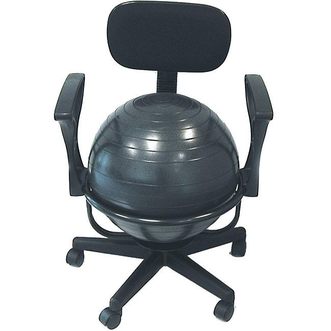 Li Office Chair Combines The Benefits Of Ball Therapy With Convenience A Base Cando Is Made Durable