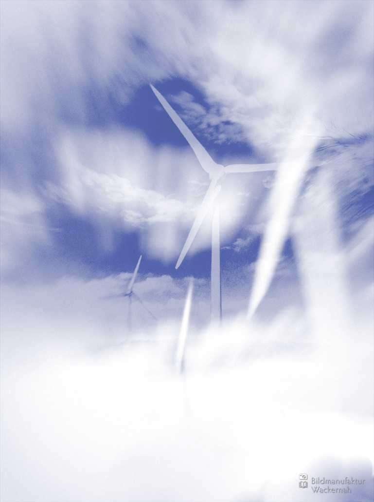 cool Fotografie »Wind Twins @ Winter Nº 2«,  #Winter