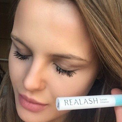 Photo of REALASH conditioner long and thick lashes
