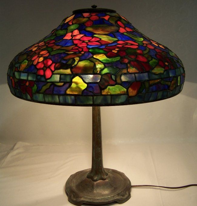 Tiffany Studios Lead Glass Table Lamp : Lot 161A to be sold 6/20/13 estimate only $ 6 to $ 7000   ????????