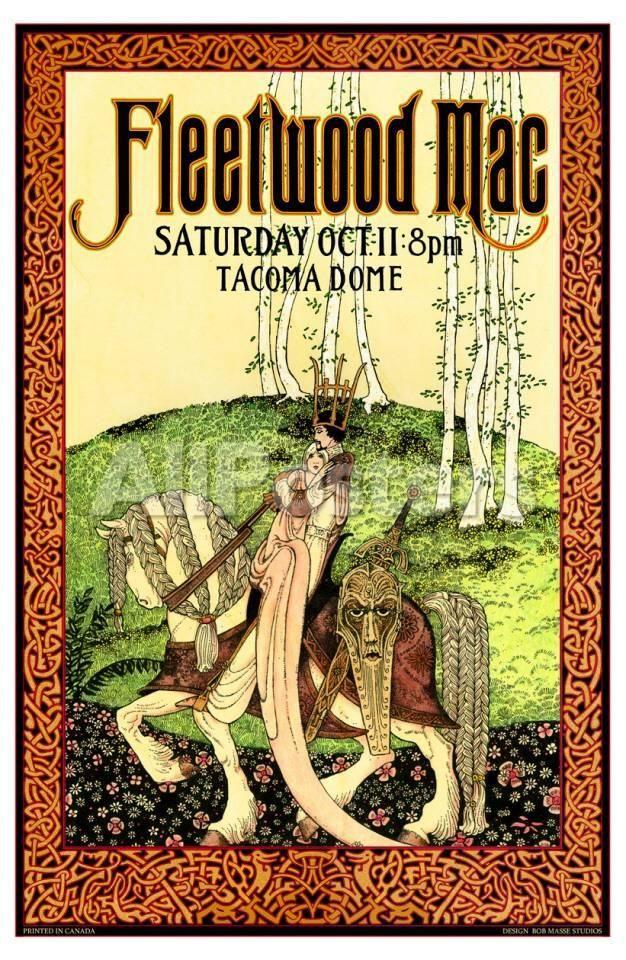 Fleetwood Mac, Washington Posters by Bob Masse