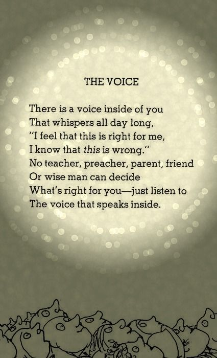 SHEL SILVERSTEIN. Special thank you for Dr, Estes words that ...