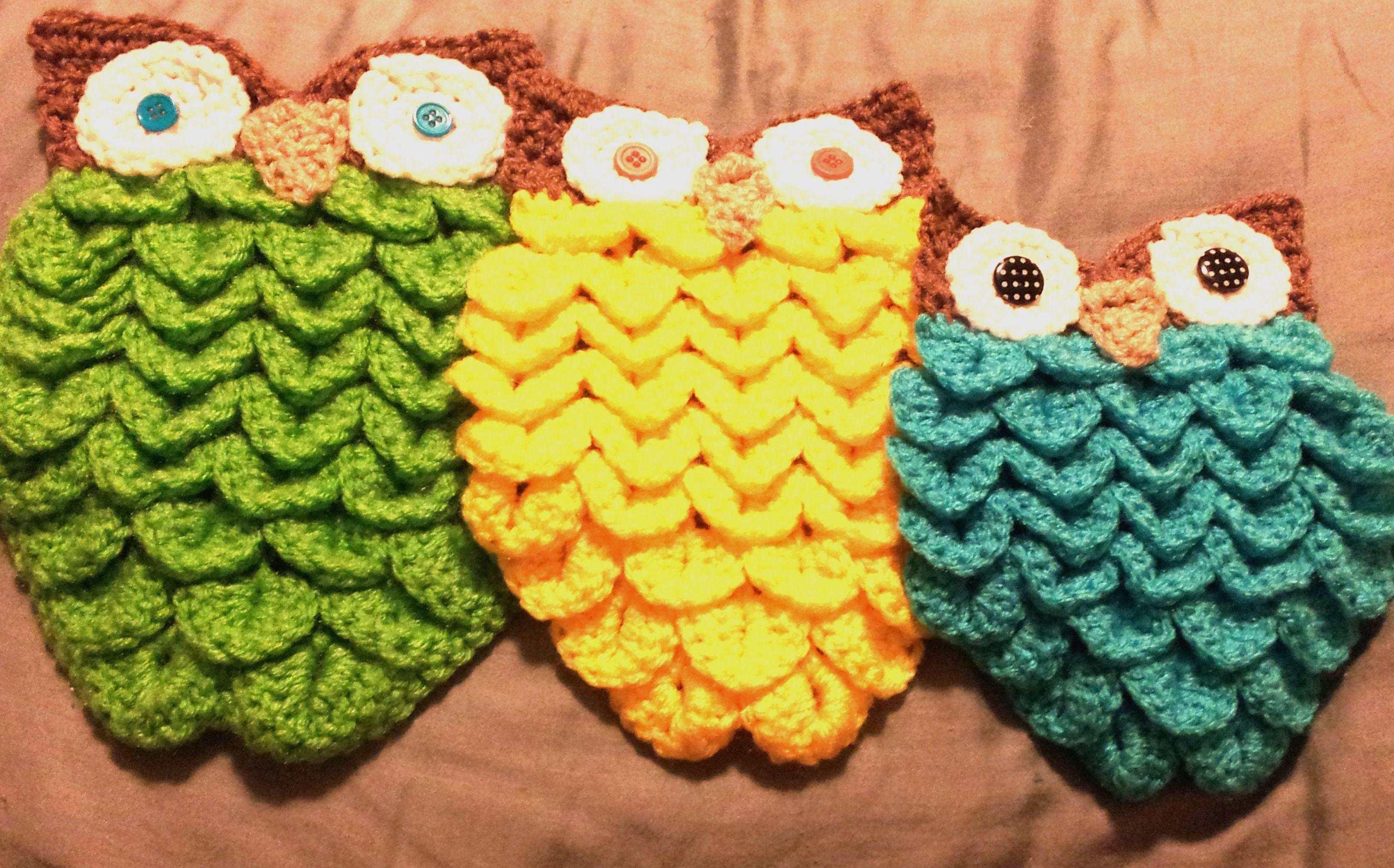 Crocodile Stitch Owl – With PATTERN! | Chistes
