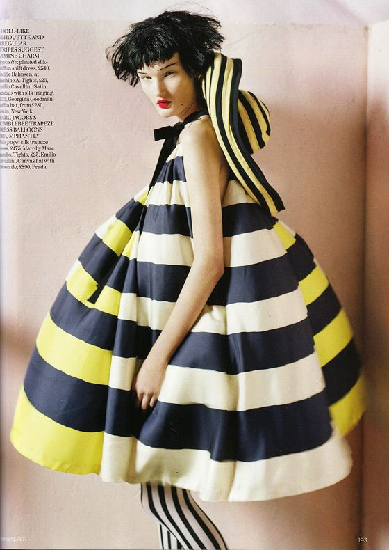 Fashion photography by Tim Walker for Vogue UK April 2011. Pinned by Modeconnect.com