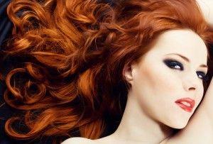 Redhead sensuality