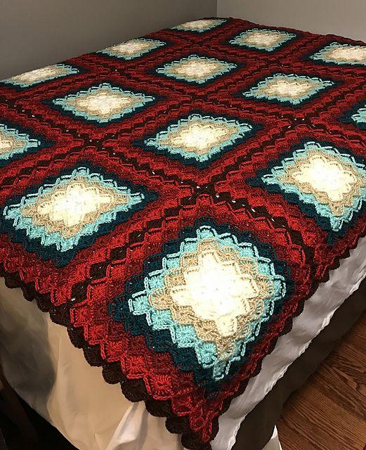 Free Pattern Bavarian Crochet Baby Blanket Download Free Pattern