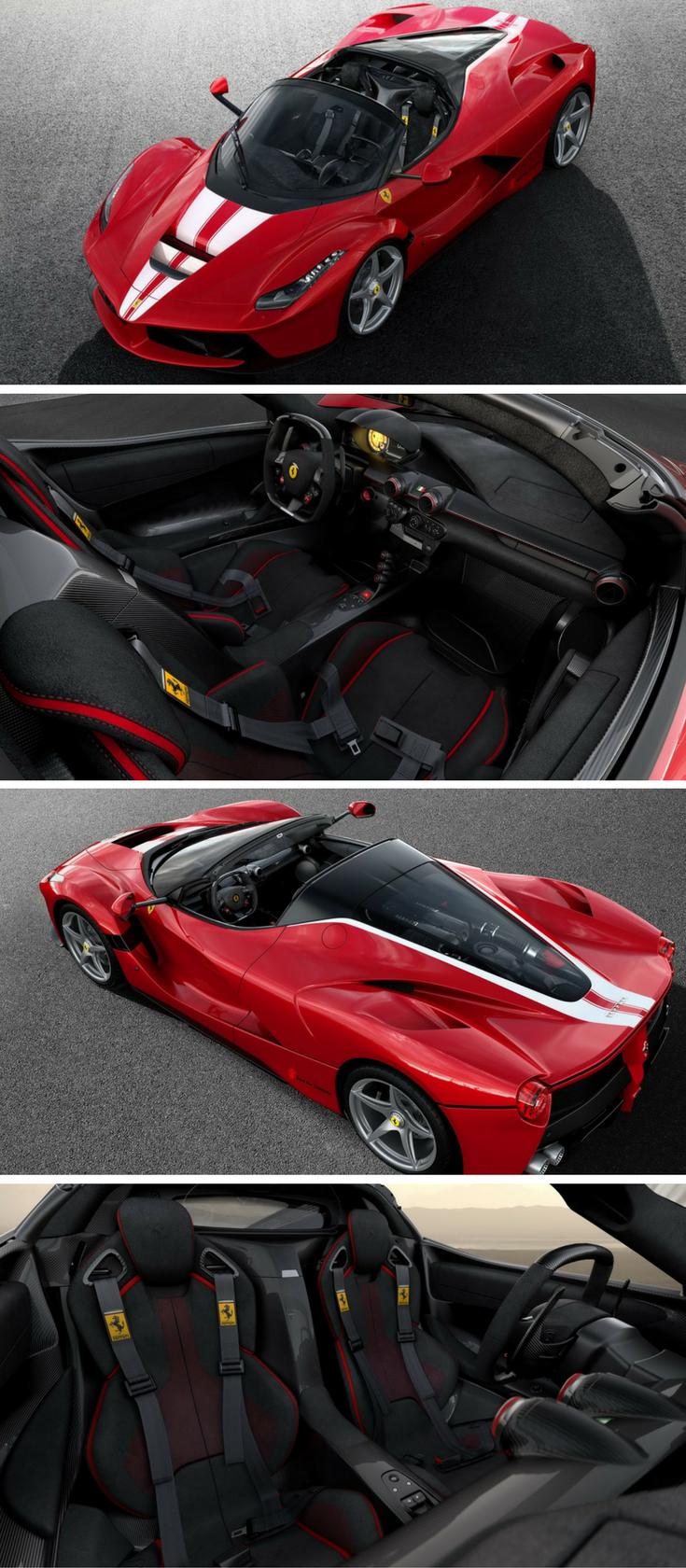Final Ferrari Laferrari Aperta To Be Auctioned For Charity Ferrari Laferrari Ferrari Luxury Cars