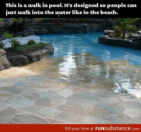 How To Make Any Swimming Pool Awesome Funsubstance Walk In Pool Dream Pools My Dream Home