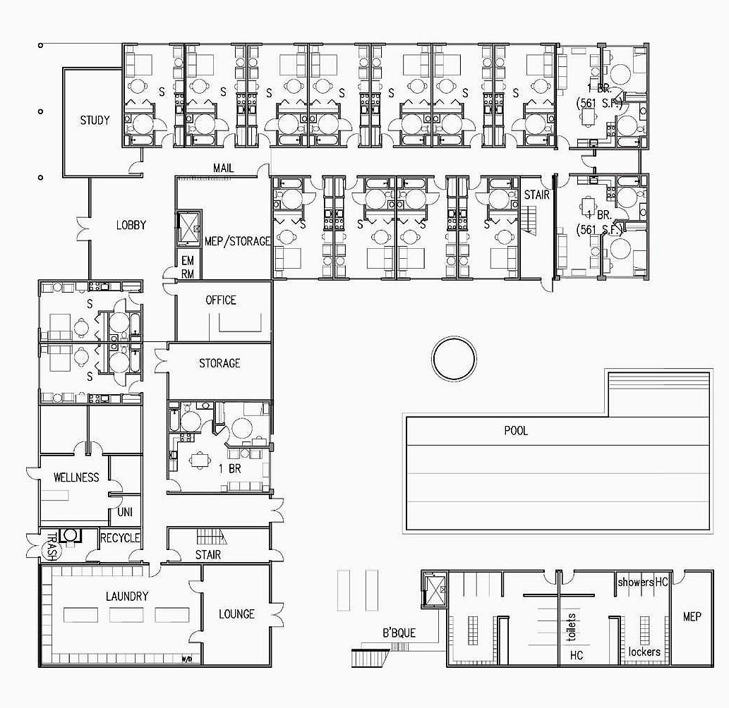 elementary school building design plans | Brookhurst ...