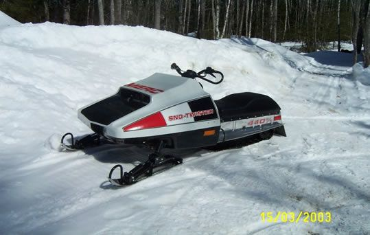 Top of the Lake Snowmobile Museum Sleds on Display