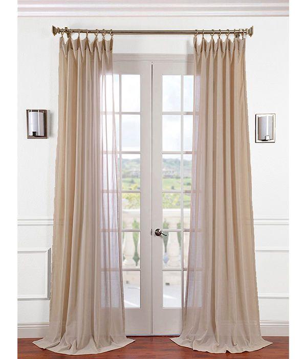 Tumbleweed Faux Linen Sheer Curtain Sheer Linen Curtains Sheer