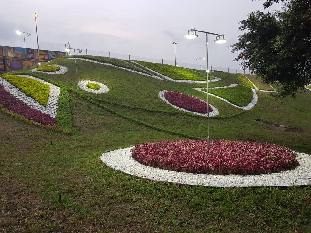 Landscape Design at Nigerian Airforce Base, Port Harcourt
