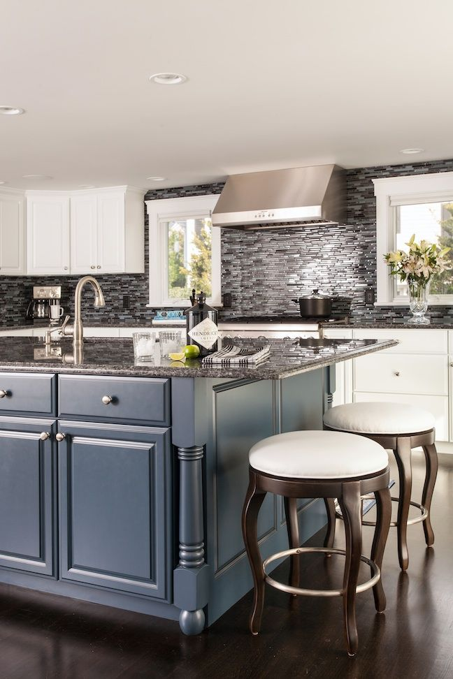 home remodeling magazine blue kitchen island with hendricks