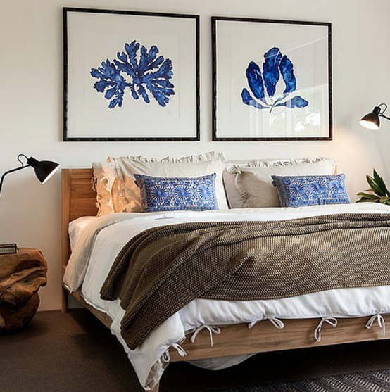 stunning coral beach bedroom | Stunning Bedroom Interior by Collected Interiors featuring ...